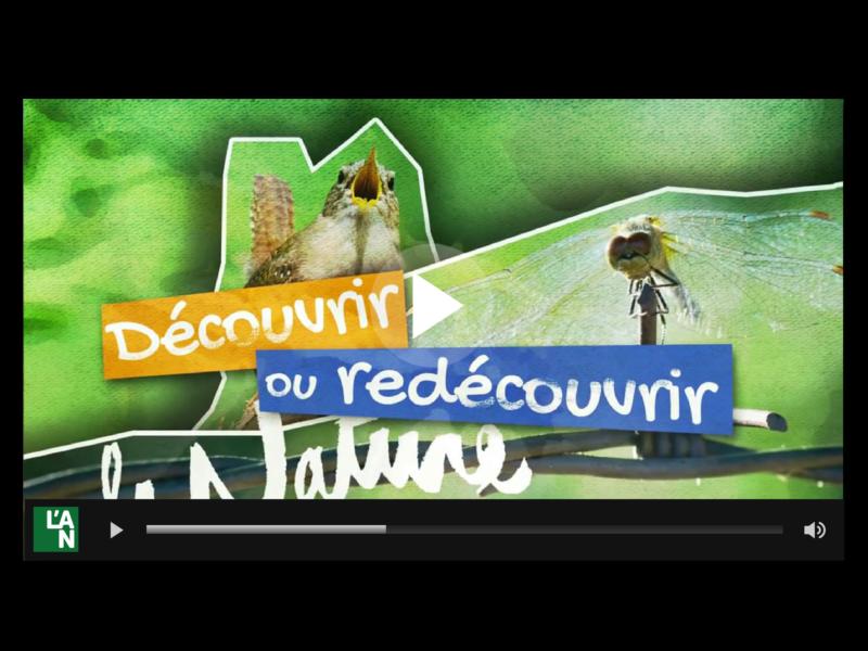 Clip vidéo promotionnel de la Fête de la Nature 2015