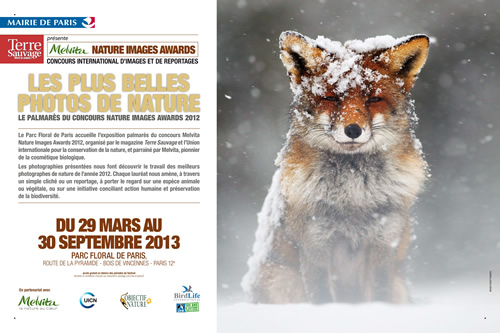 Exposition Palmarès Melvita Nature Images Awards 2012
