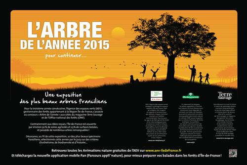 Exposition Arbre de l'année 2015