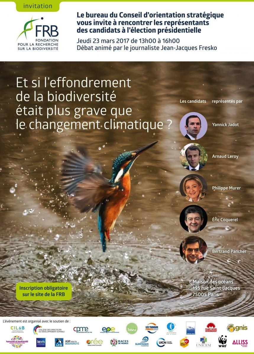 Biodiversité : le programme de 5 candidats à l'élection présidentielle