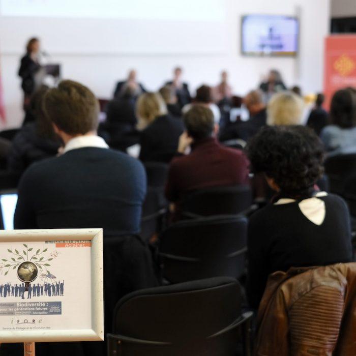 Production et animation du colloque Biodiversité : agir pour les générations futures